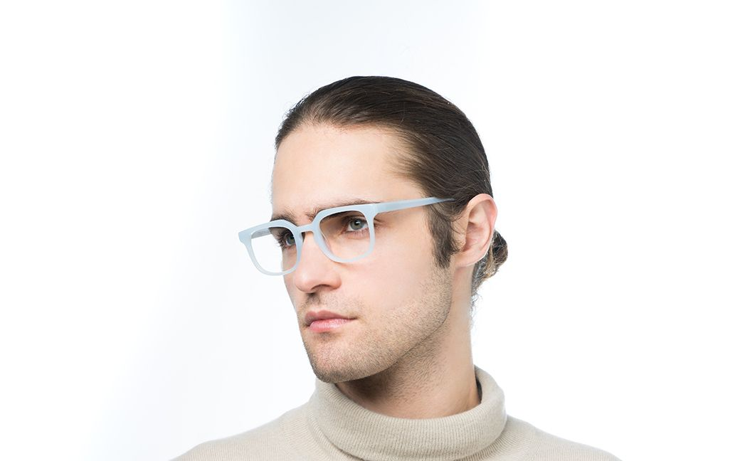 azzurra blue polette glasses model view 03