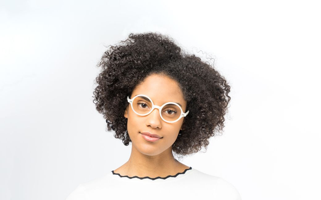 daryl ivory polette glasses model view 01