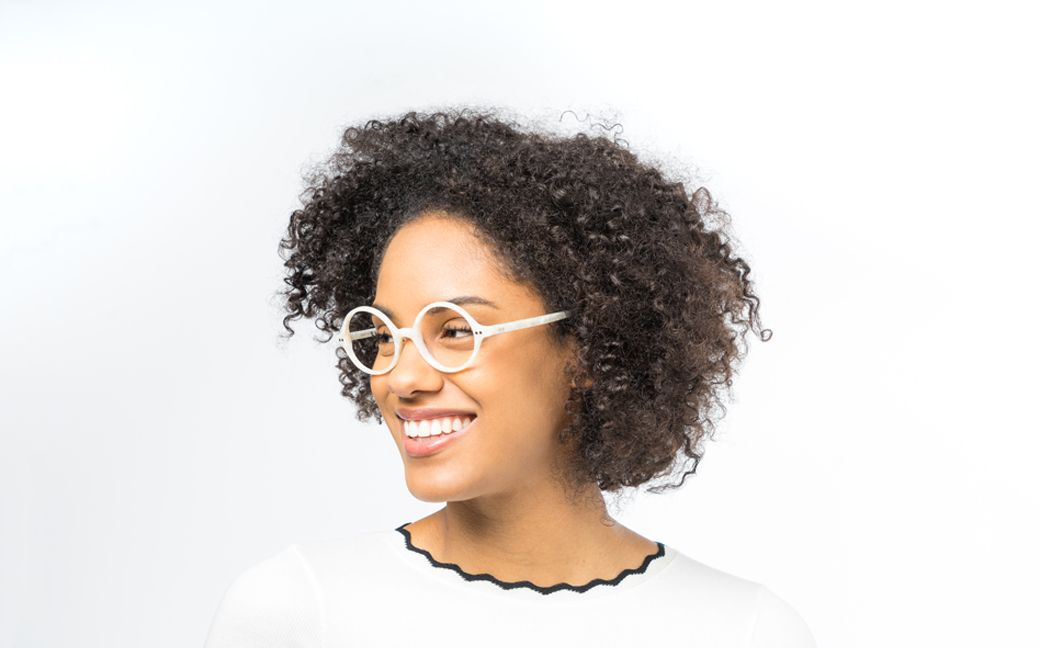daryl ivory polette glasses model view 02