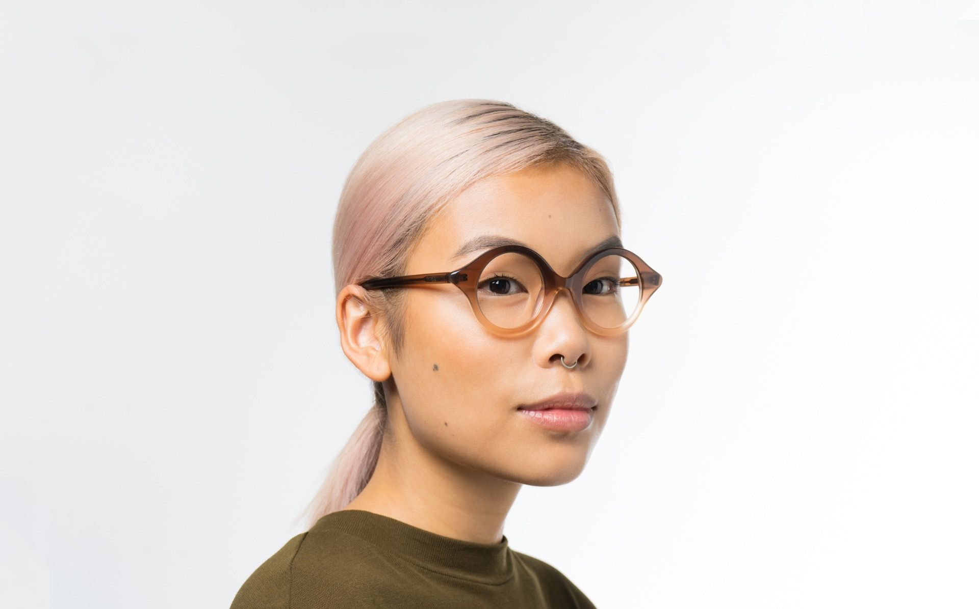 kiko polette glasses model view 02 crop
