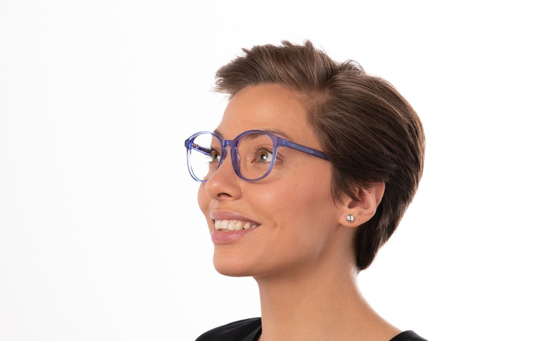 miranda blue polette glasses model view 01