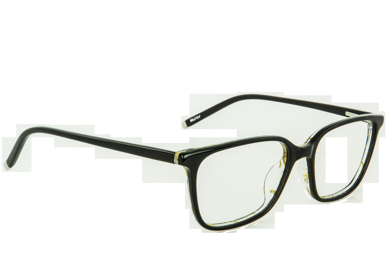 Muller Noir Rectangle lunettes