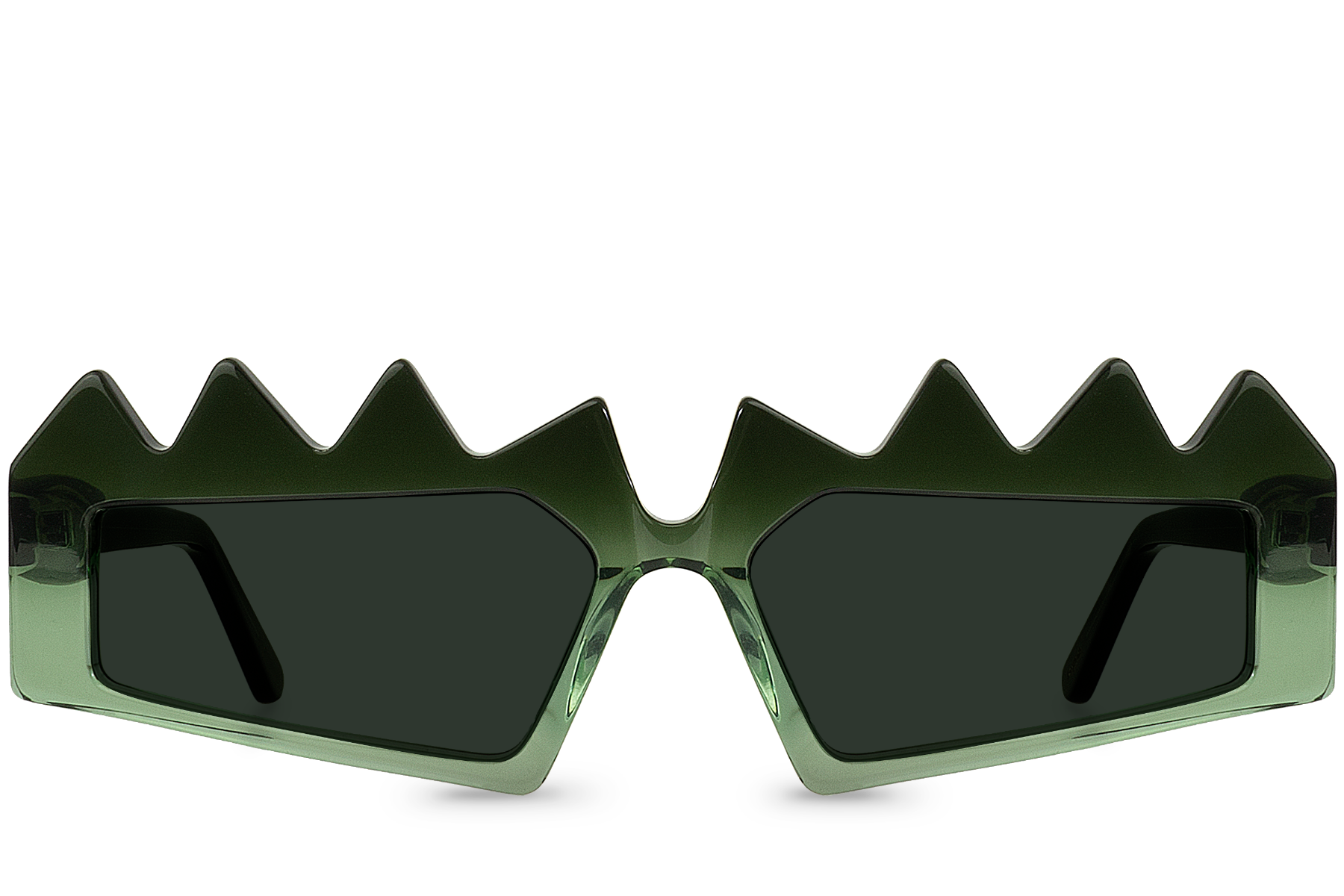 reptilia green front view