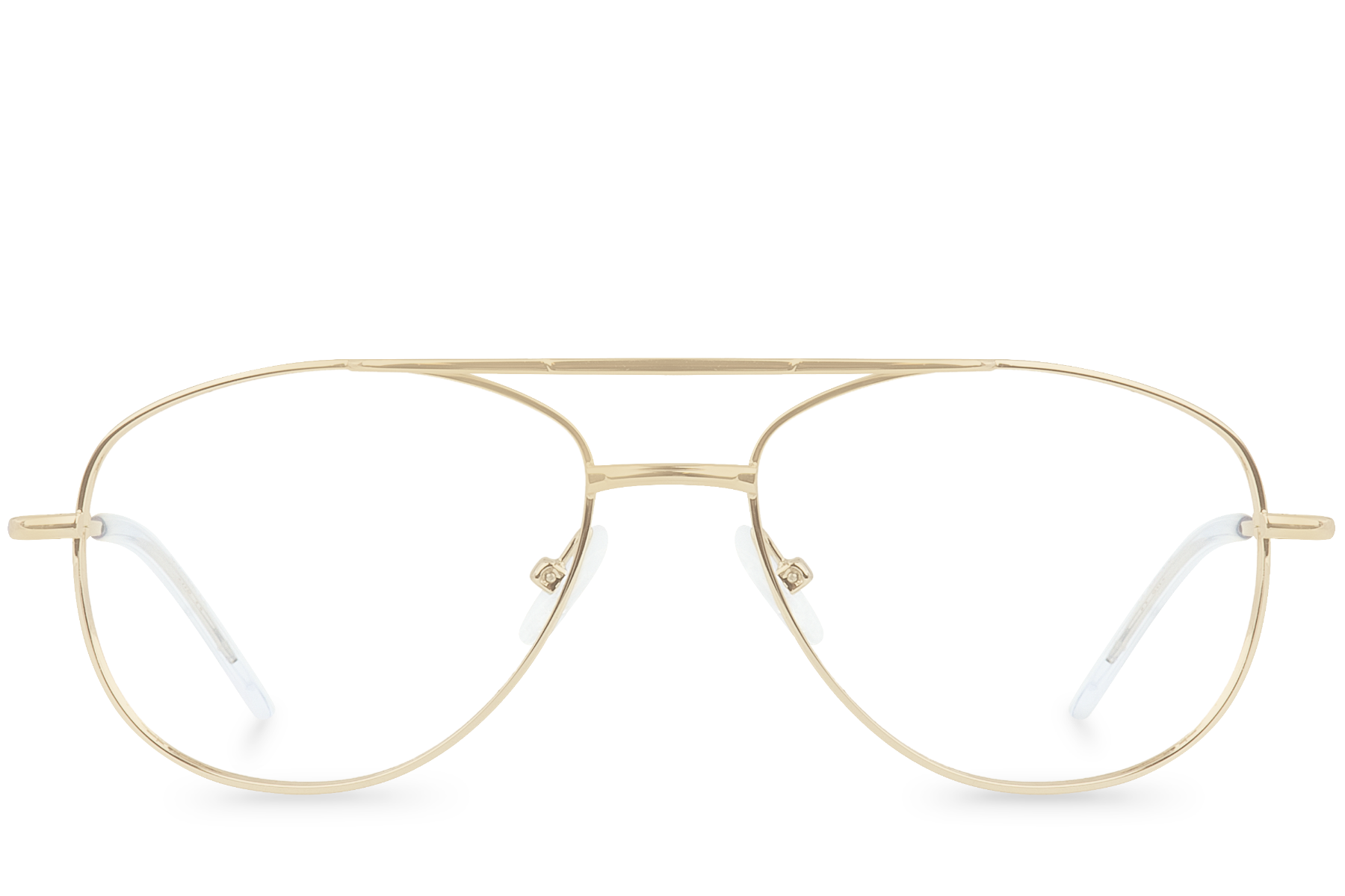 spoiler gold polette glasses front view