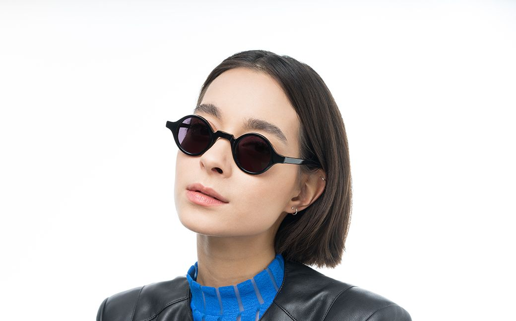 weeto black s polette glasses model view 01