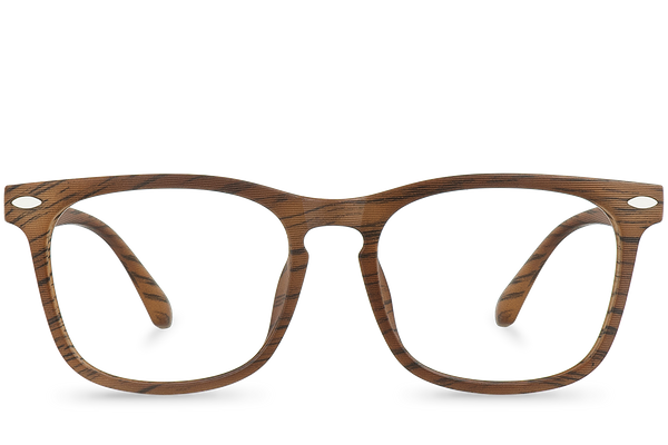 birch brown polette glasses front view 1