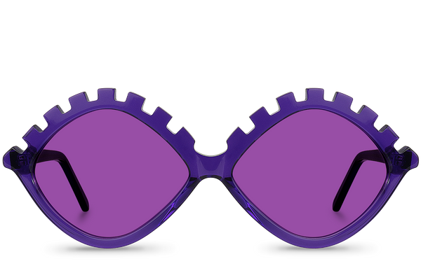 lash purple front view