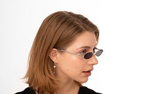 alonso silver polette glasses model view 02