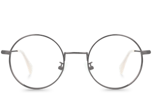 bell grey polette glasses front view