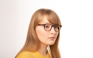 brooklyn ecaille polette glasses model view 02