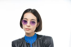 california purple polette glasses model view 01