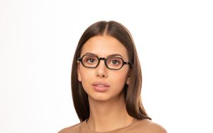 christian black polette glasses model view 01
