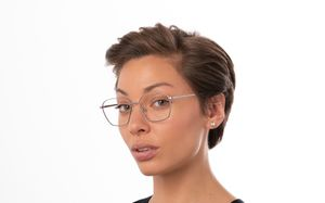 ealing sliver polette glasses model view 01