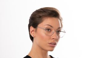 ealing sliver polette glasses model view 02