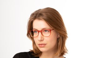 ethan red polette glasses model view 02 2