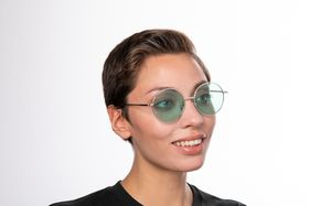 exciter green polette glasses model view 02