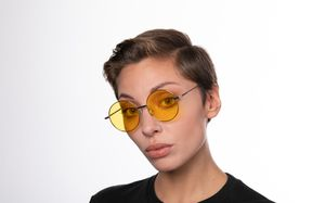 exciter yellow polette glasses model view 01