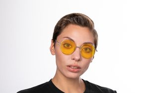exciter yellow polette glasses model view 02