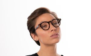 holly brown polette glasses model view 02