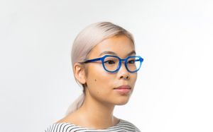 justice blue polette glasses model view 01 crop