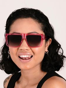 lava pink polette glasses model view 1 1
