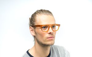 marshall view brown polette glasses model view 03