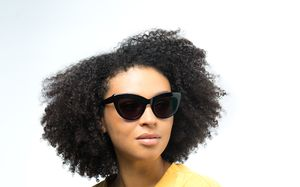 notting hill black polette glasses model view 02