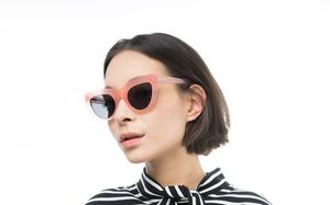 notting hill pink polette glasses model view 01