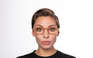 riegel brown polette glasses model view 02 1 1