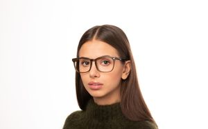 wiley brown polette glasses model view 01