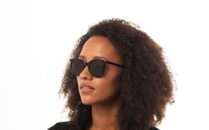 winona black s polette glasses model view 2