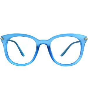 Lunettes Ovale Poseidon polette en Plastique Bleu.