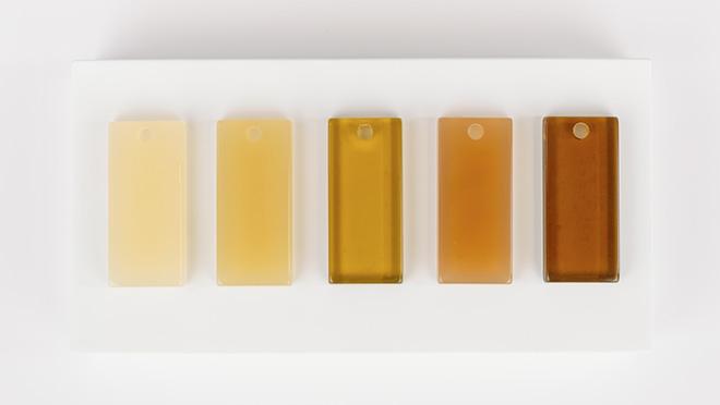échantillons d'acétate de couleur